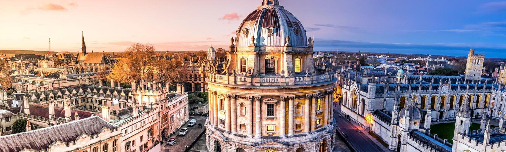 panoramic view of radcliffe square