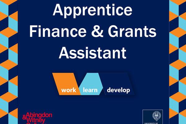 Finance & Grants Assistant vacancy, University of Oxford