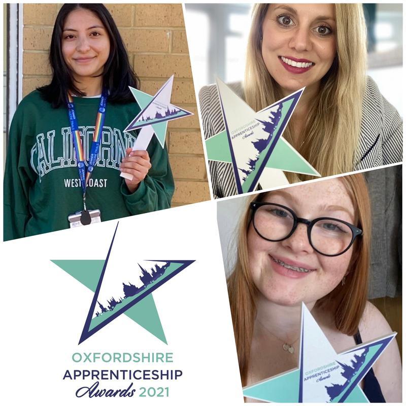 University of Oxford finalists, Oxfordshire Apprenticeship Awards 2021