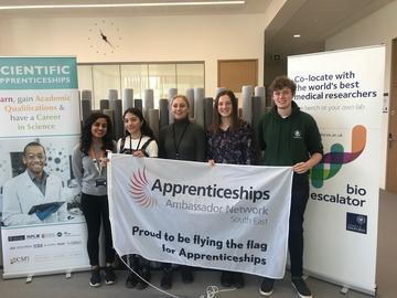 CSR scientific apprentices, National Apprenticeship Week 2019, University of Oxford