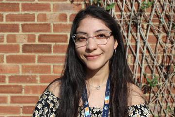 Laboratory technician, Emilia Reyes Pabon, apprentice ambassador for University of Oxford